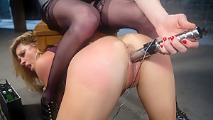 Crazy fetish, milf xxx video with fabulous pornstars Amanda Blow and Princess Donna Dolore from Wiredpussy