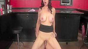 Exotic pornstar Angie Noir in hottest brunette, milf adult video