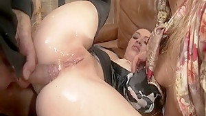 Amazing pornstars Tiffany Doll and Nikky Thorne in best threesome, blonde adult movie