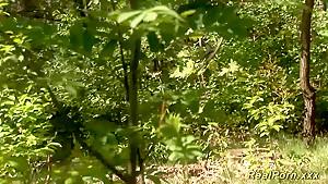 german teen sex in the wood