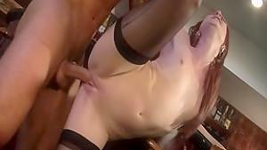 Hottest pornstar Audrey Lords in crazy redhead, facial sex video