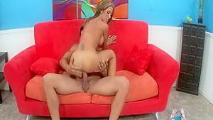Exotic pornstar Capri Cavanni in fabulous blowjob, cunnilingus sex clip