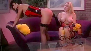 Incredible pornstars Alaura Eden and Nicole Sheridan in exotic lesbian, blonde adult video