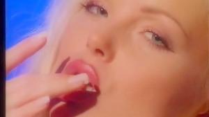 Hottest pornstar Silvia Saint in amazing blonde, masturbation sex scene