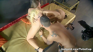 Best pornstar in Horny Threesomes, Blonde sex scene
