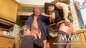 Exotic pornstar in Fabulous Blowjob, German sex scene