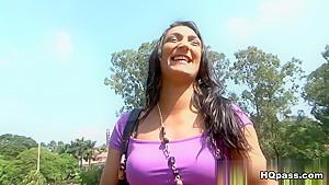 Horny pornstar Alessandra Lins in Hottest Latina, Big Ass sex scene