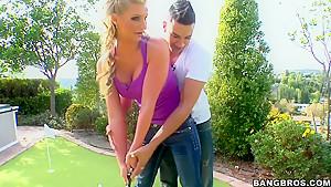 The beautiful blonde pornstar Phoenix Marie