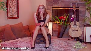 Best pornstar Adriana Leigh in Crazy Softcore, Big Tits sex video