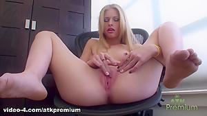 Hottest pornstar Avril Hall in Best Blonde, Solo Girl porn video