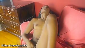 Crazy pornstar in Exotic Black and Ebony, Masturbation xxx video