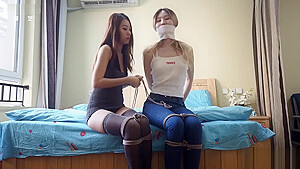 Amazing sex clip Hogtied check exclusive version