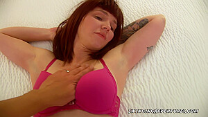A naughty redhead who loves to fuck