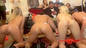 Big teen orgy