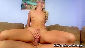 Fabulous pornstars Alec Knight, Cindy Starfall, Mick Blue in Amazing Blonde, Creampie adult video