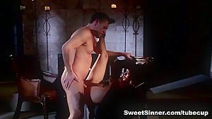 Exotic pornstars Alec Knight, Josie Jagger in Incredible Cunnilingus, Cumshots porn video