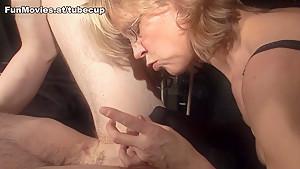 Horny pornstars in Incredible Femdom sex video