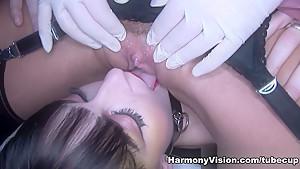Fabulous pornstars Lena Franks, Keira Pharell in Horny Big Tits, Lesbian sex clip