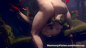 Crazy pornstar Samantha Bentley in Horny Medium Tits, Threesomes sex clip