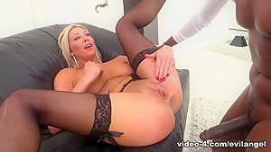 Fabulous pornstars Lexi Lowe, Lexington Steele in Crazy Pornstars, Interracial porn clip