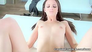 Exotic pornstar Farrah Valentine in Best Casting, Brunette sex video