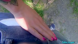Hottest pornstar Tobi Pacific in Exotic Blonde, Tattoos sex video