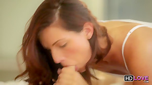 A sexy couple perform oral on each other