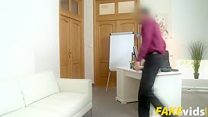 Kira Parvati In Agent Cums Over Her Skinny Ass