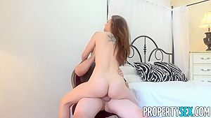 PropertySex Real Estate Agent Scarlett Datz Fucks Film Producer