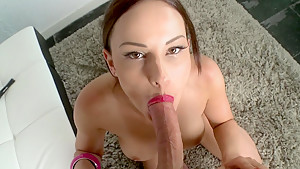 Red-Head babe get fucked in doggy style