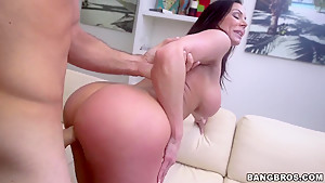 Kendra Lust loves to be drilled hard in doggie