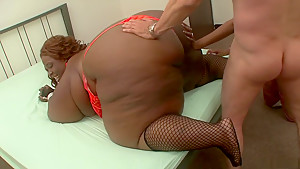 Fabulous pornstar Ms. Cleo in best blonde, lingerie adult scene