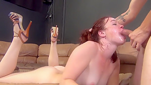 Best pornstar Jodie Taylor in exotic swallow, deep throat adult movie