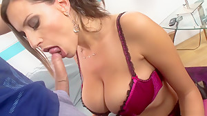 Exotic pornstar Sensual Jane in best brazilian, big tits sex scene