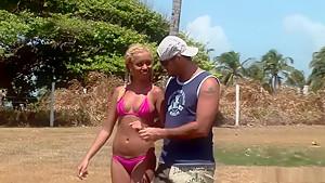 Amazing pornstar Barbie Banks in hottest anal, blonde sex video