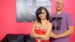 Hottest pornstar Christiana Cinn in fabulous foot fetish, hardcore sex scene