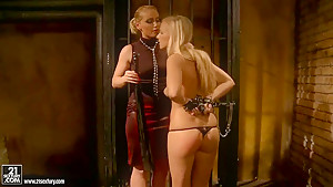 Barbie White gets dominated excitingly by sexy Kathia Nobili