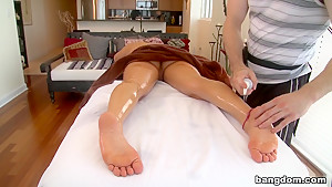 Some dick after her rubdown
