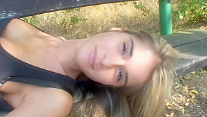 Nessa Devil in guy with a big rod fucks a gal in a homemade video