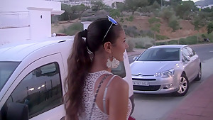 Agnessa in hot couple fucking and having passionate oral sex