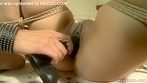 Mandy Bright is one mean dominatrix bitch to this slut