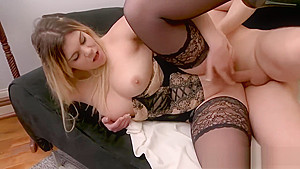 Sweet New StepMother Ines Wants To Fuck Hard Teen Son's Friend