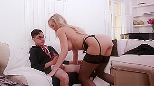 Milf young as licking and amateur Halloween Special With A Threesome