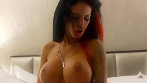 Angelina Valentine staying with me for money