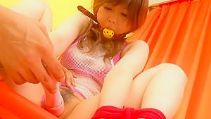 Crazy Japanese whore Miku Airi in Amazing JAV uncensored Dildos/Toys movie