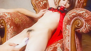 Amazing Japanese chick Mai Shirosaki in Hottest JAV uncensored Dildos/Toys clip